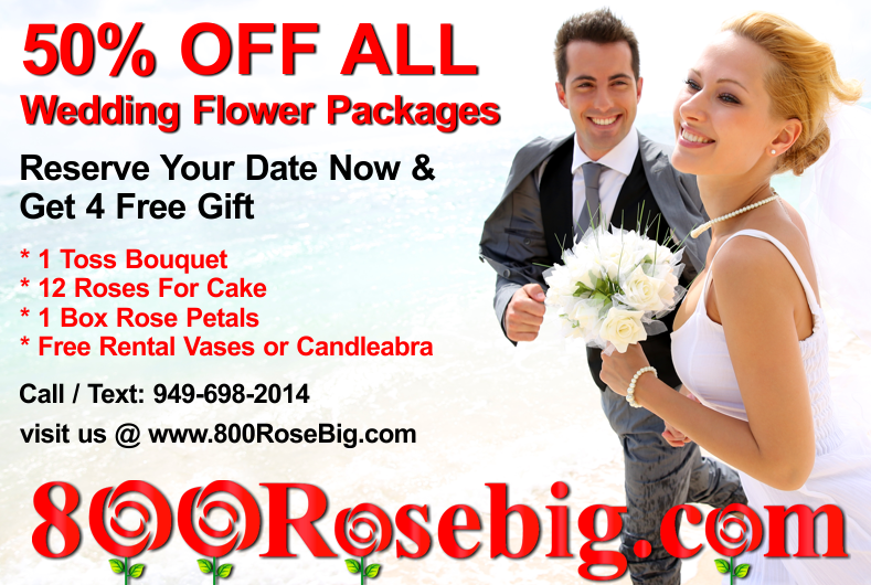 800RoseBig Wholesale Wedding Florist Orange County Ca